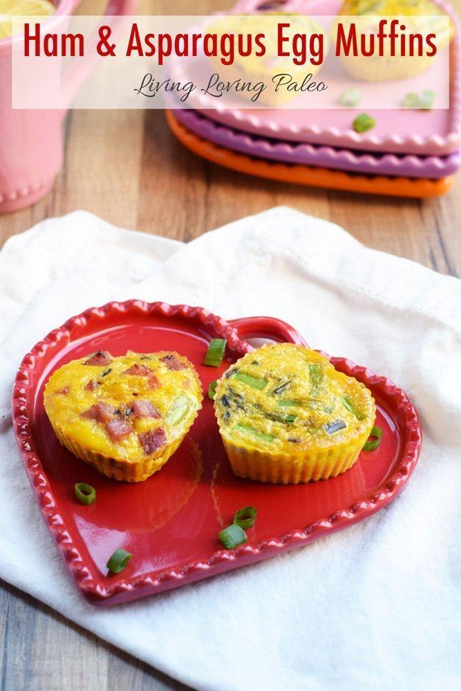 Ham and Asparagus Egg Muffins