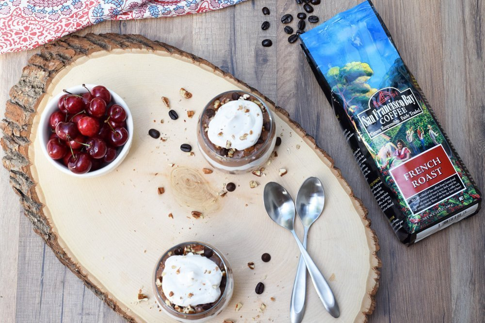 Mocha Pudding Parfait
