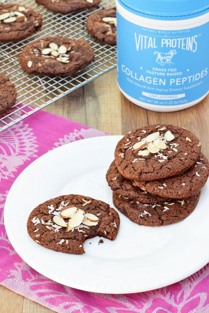 Double Chocolate Power Cookies
