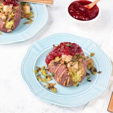 Thanksgiving Stuffed Yams