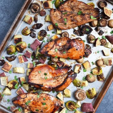 Balsamic Chicken Sheet-Pan Dinner