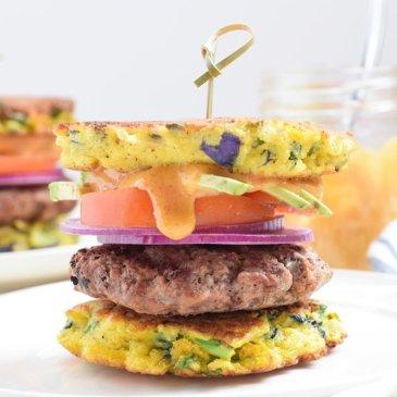 Loaded Veggie Burger Buns