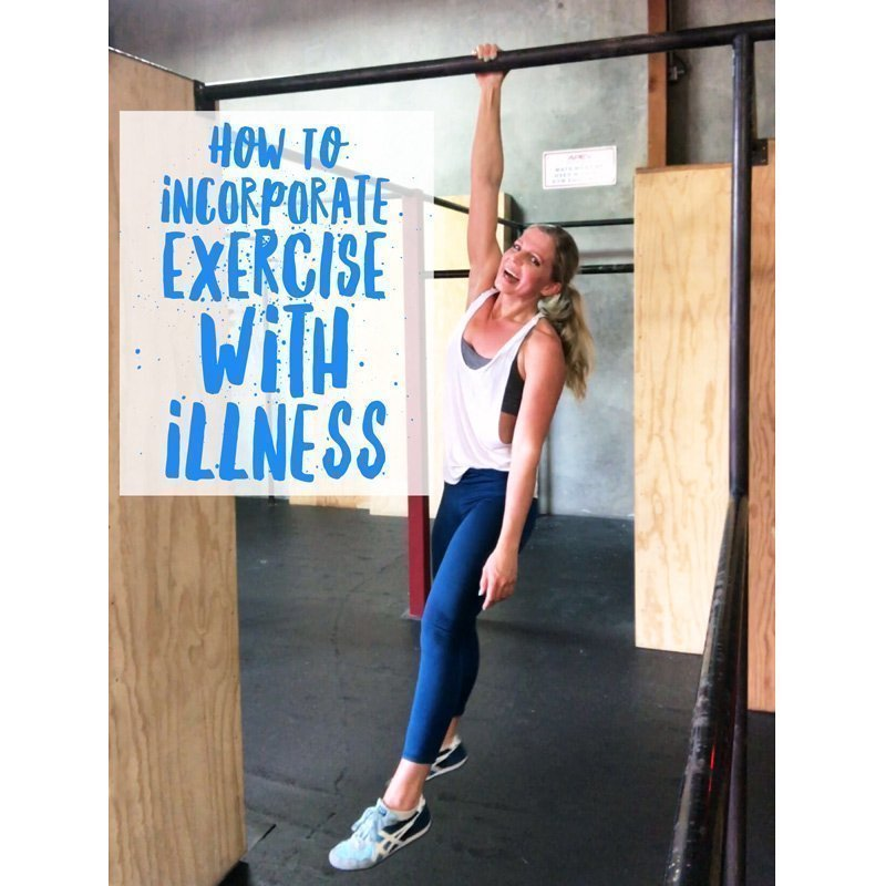 Incorporating Exercise With Illness