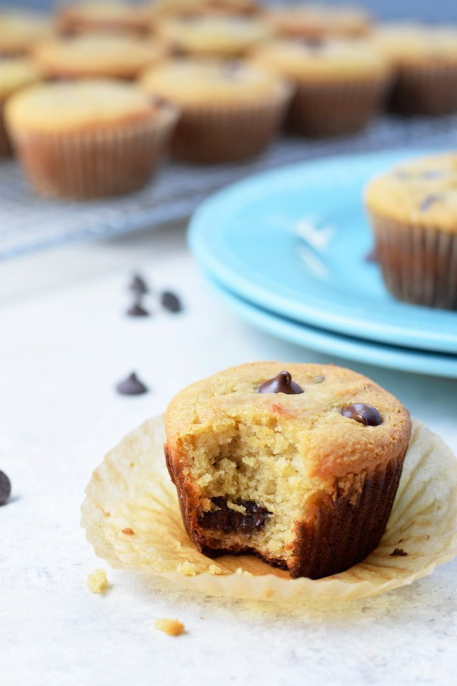 Vanilla Chocolate Chip Muffins