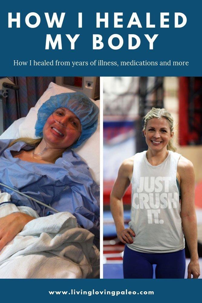 How I Healed My Body- Pinterest Image