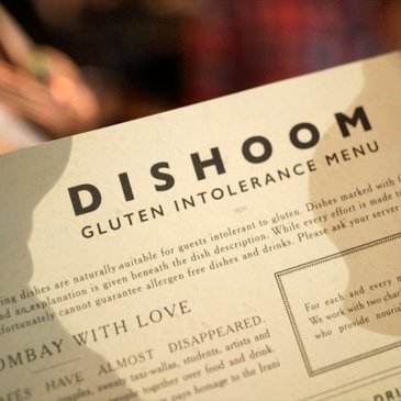 Dishoom Gluten-free Dining