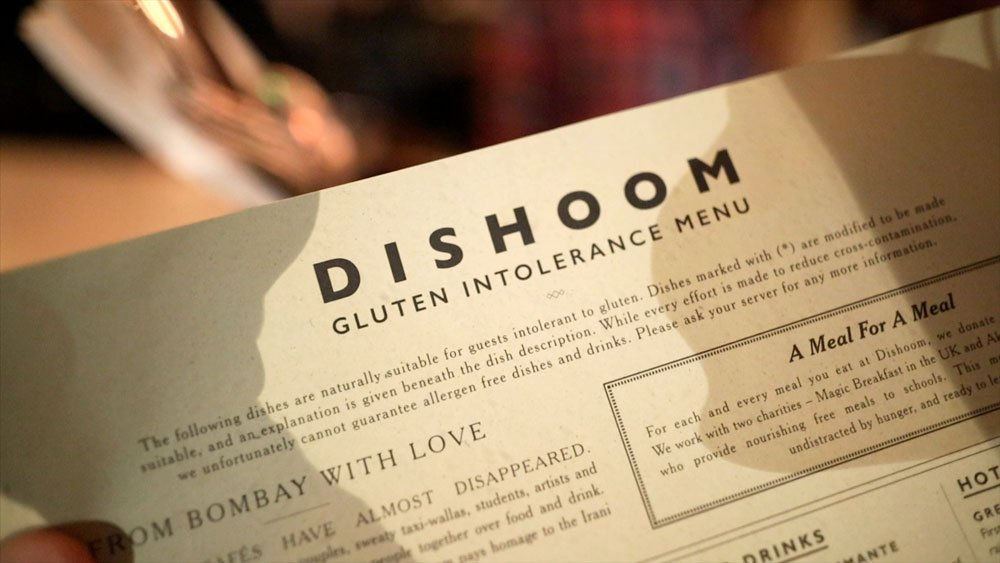 Dishoom Gluten-free Dining
