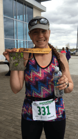 First Marathon - Garmin Marathon, April 2016