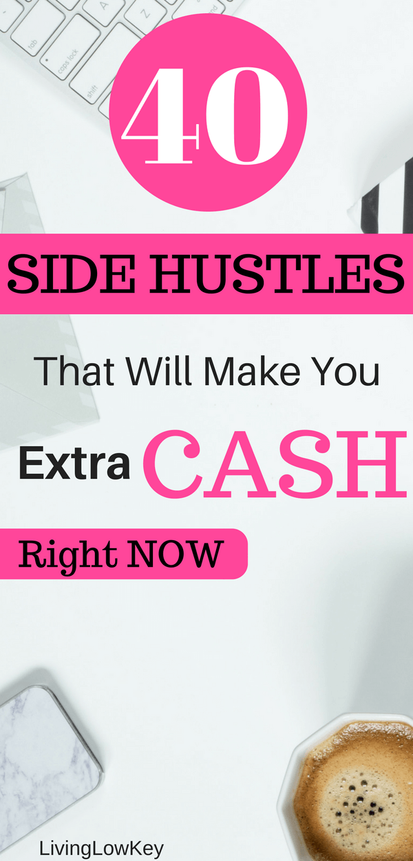 Looking for ways to make extra money? If so, check out this post filled with so many different ways to make extra money each month. These side jobs are meant to make money fast. So if you are looking to work, come check out these side hustles.