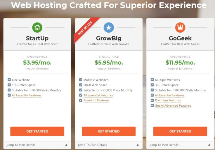 Get top notch web hosting with Siteground. The best web host this year!