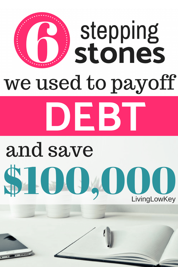 Learn the 6 steps we used to save over $100,000 in 5 years and pay off all our debt.  This eBook is full of money saving tips and frugal living ideas.  If you need money management help, this eBook is for you!!