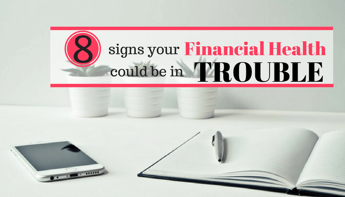 When's the last time you checked your financial health? Find out how to fix these 8 common money management problems and fix your financial health today!