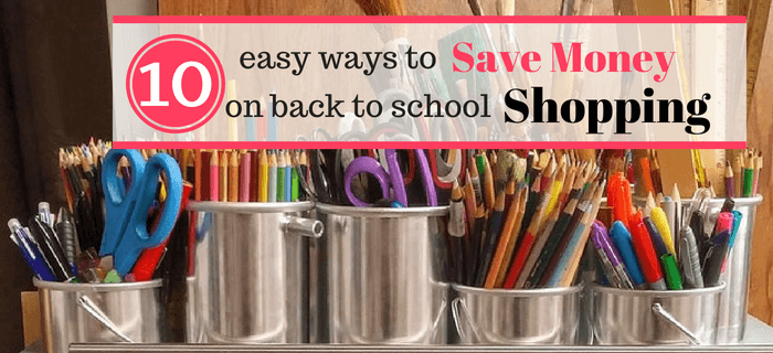 10 Of The Best Back To School Shopping Hacks That Will Save You Money