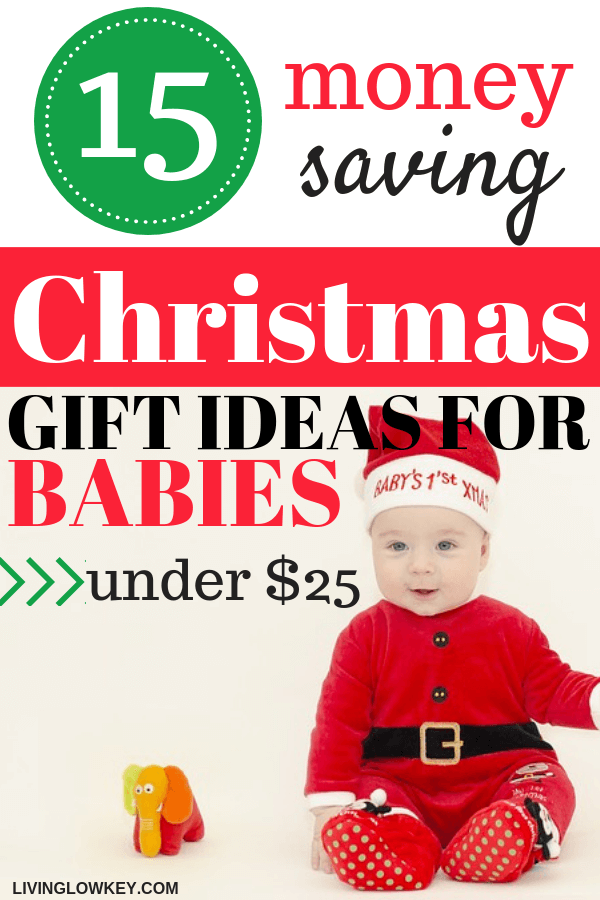Looking for cheap Christmas gift ideas for kids under $25. You'll love these budget-friendly gift ideas for every baby in the family. These unique baby gift ideas for boys and for girls will never go out of style!