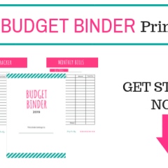 Free budget binder printables to get your budget on track.