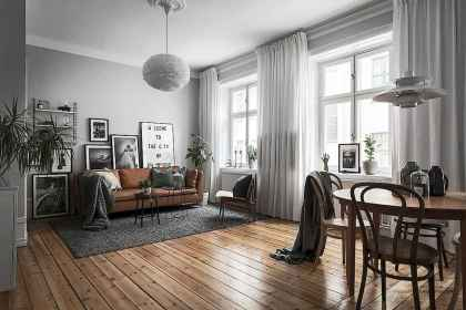 100 inspiring modern living room scandinavian decoration for your home (37)