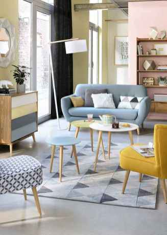 100 inspiring modern living room scandinavian decoration for your home (46)