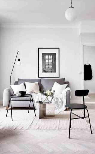 100 inspiring modern living room scandinavian decoration for your home (50)