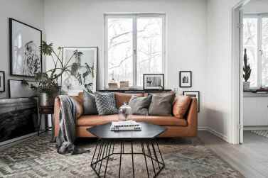 100 inspiring modern living room scandinavian decoration for your home (84)
