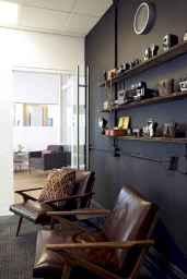 17 great vintage office room ideas remodel (5)