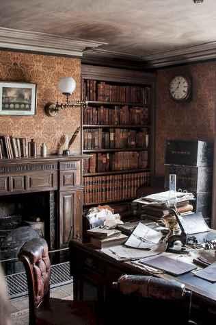 17 great vintage office room ideas remodel (9)