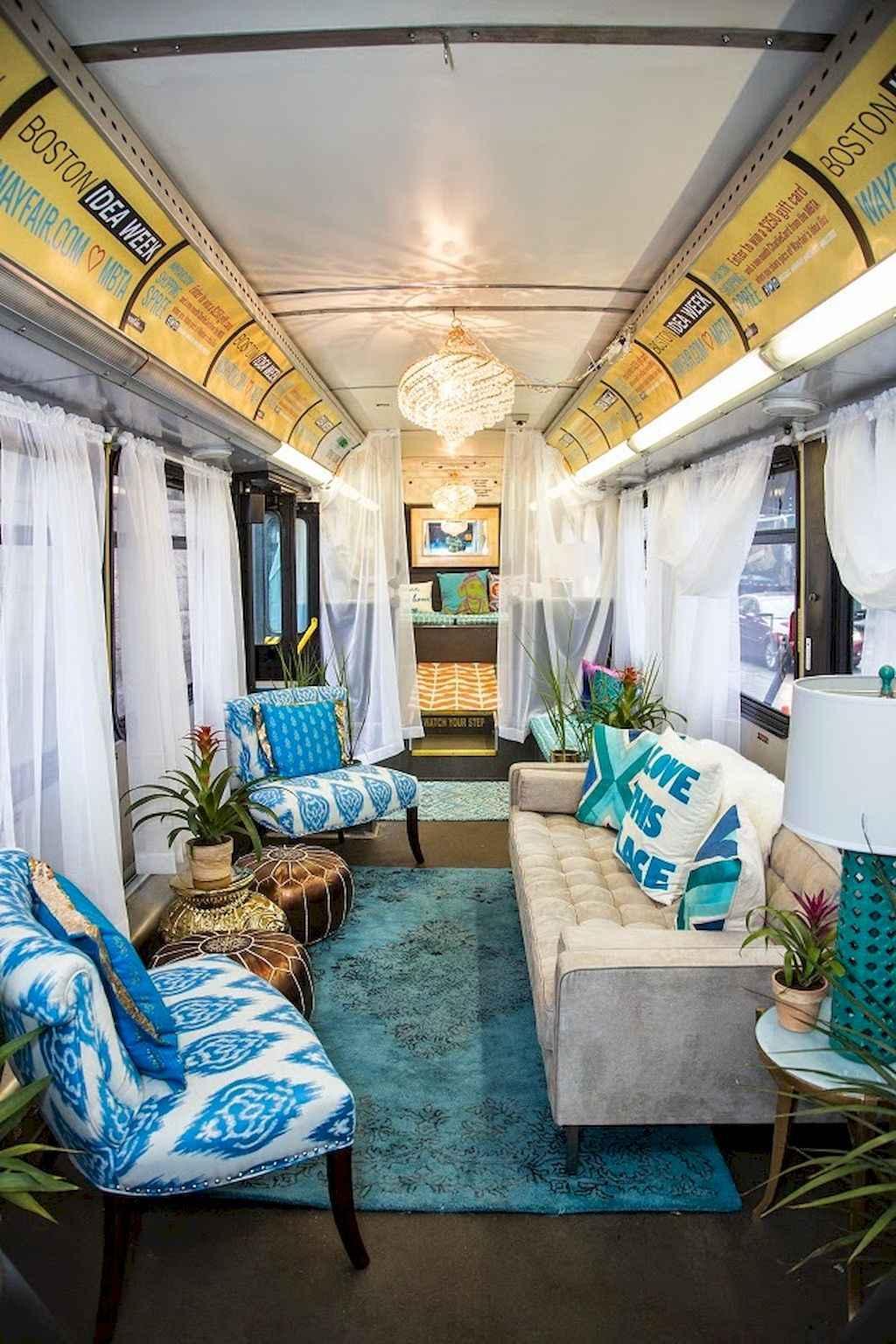 Home Interior Ideas: 20 School Bus Camper Interior Design And Plans Ideas To