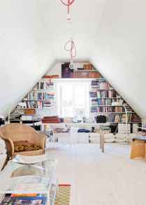 25 stunning home libraries with scandinavian style (11)