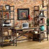 30 amazing rustic home office ideas (22)