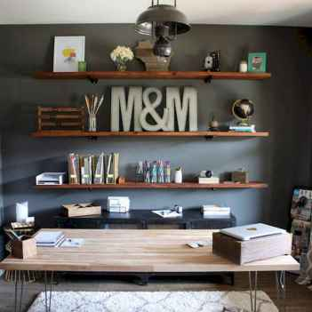 30 amazing rustic home office ideas (25)