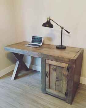 30 amazing rustic home office ideas (26)