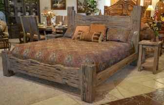 40 beautiful and elegant rustic bedroom decorating ideas (2)