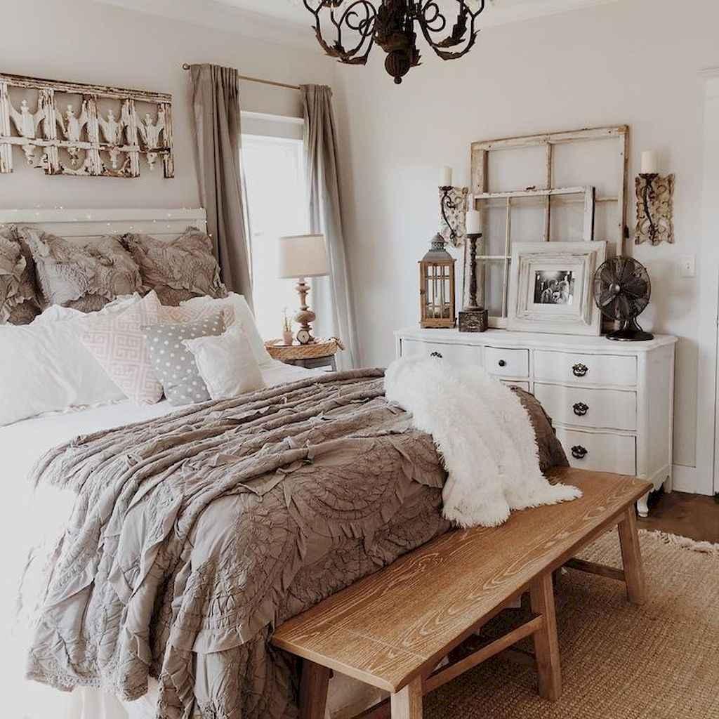 40 beautiful and elegant rustic bedroom decorating ideas (31 ...