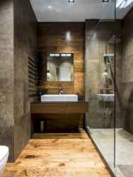 40 homely rustic bathroom ideas to warm you up this winter (34)