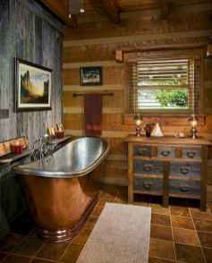 40 homely rustic bathroom ideas to warm you up this winter (7)