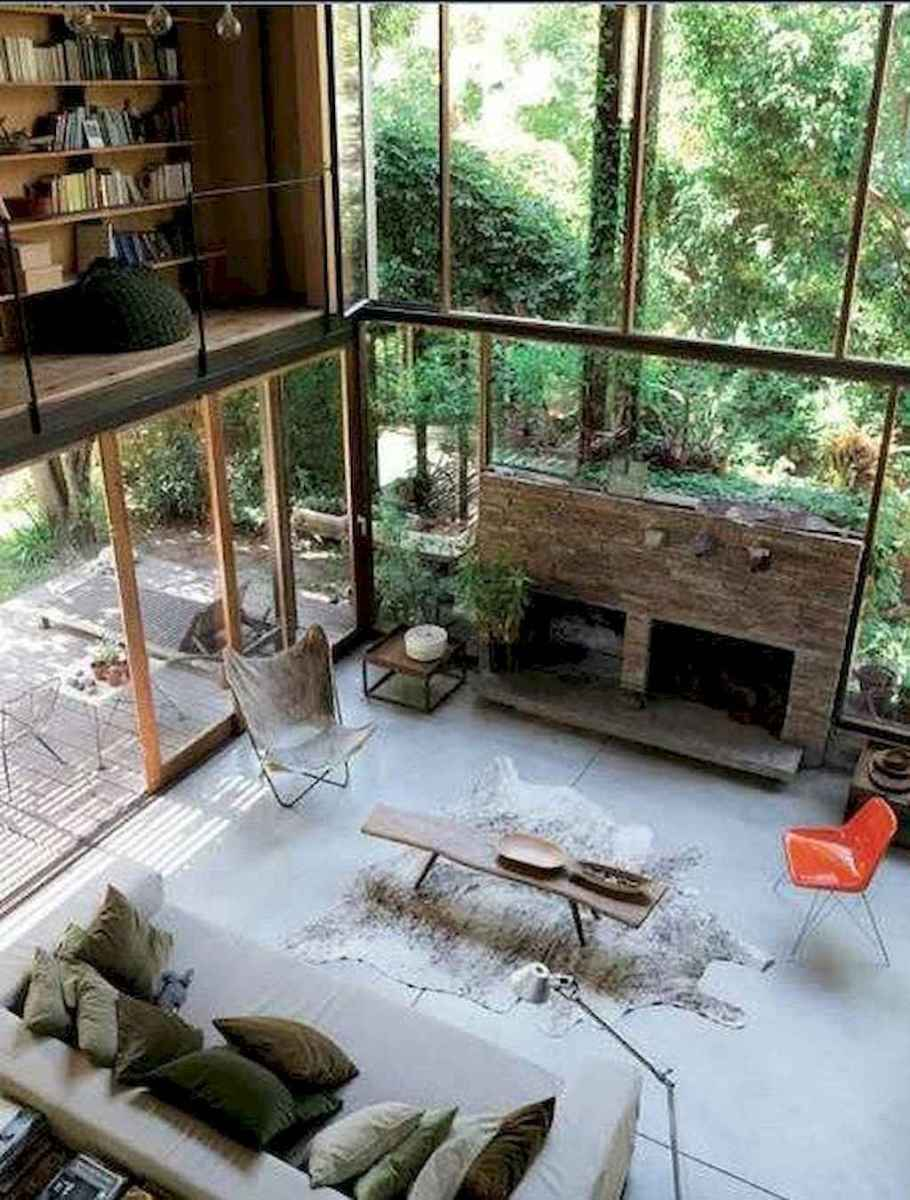 40+ stunning home libraries with rustic design (12)