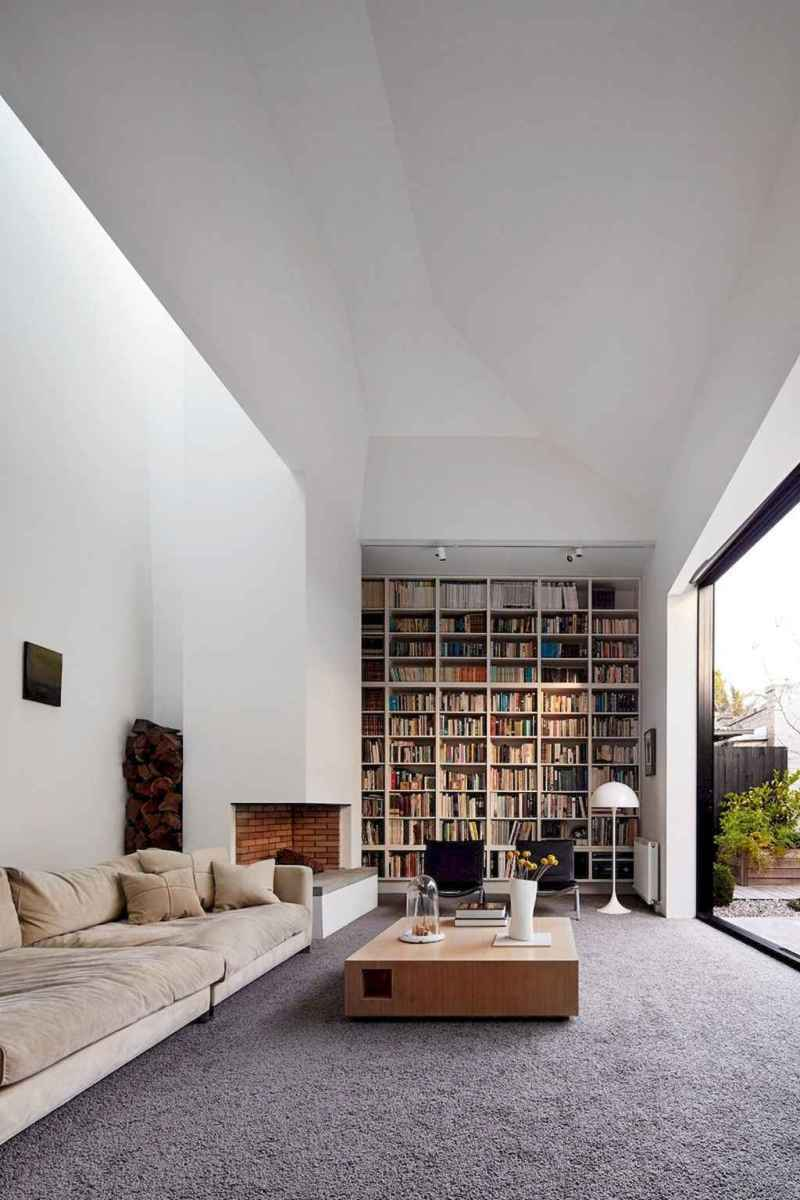 40+ stunning home libraries with rustic design (44)