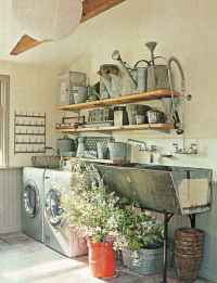50 amazing vintage laundry rooms that will make you want to clean (39)