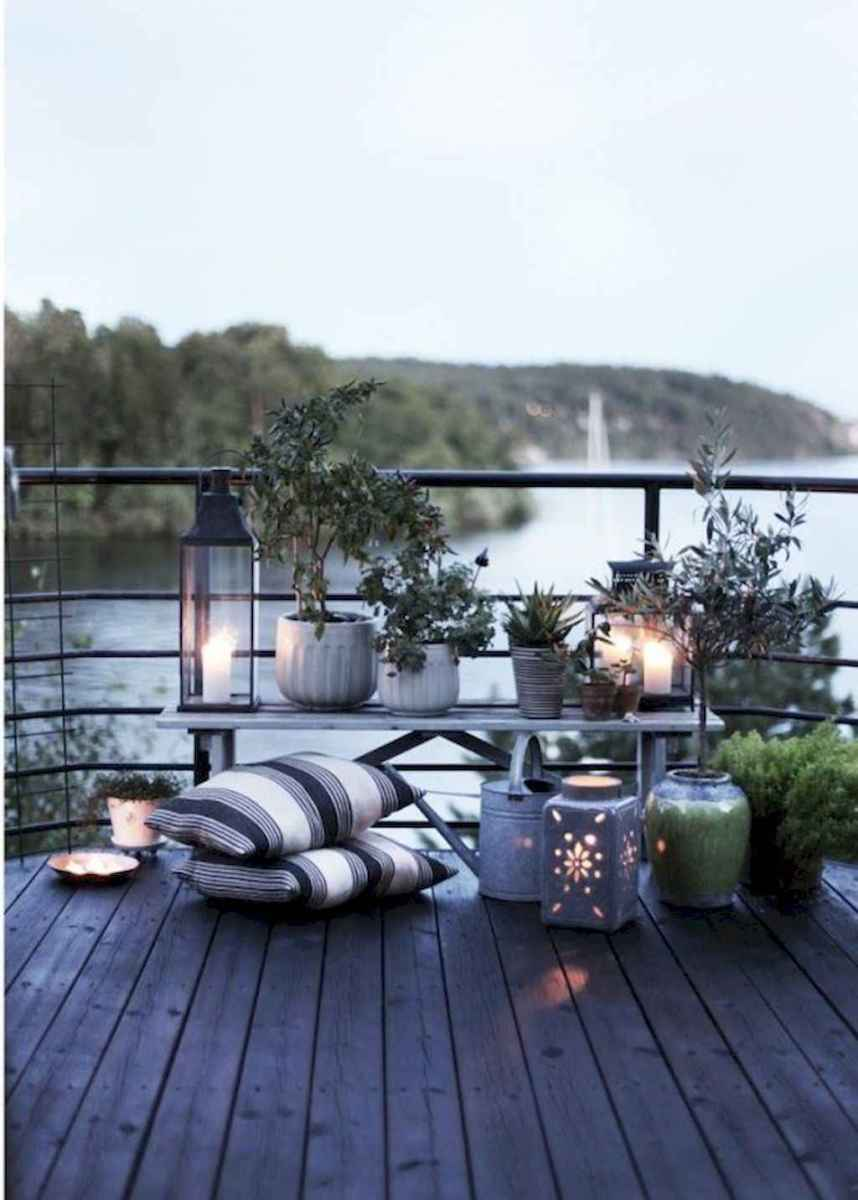 50 scandinavian porch makeover and a relaxing date night on the deck (10)