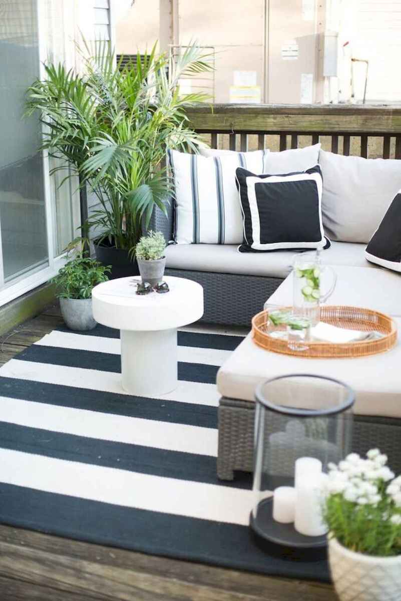 50 scandinavian porch makeover and a relaxing date night on the deck (27)