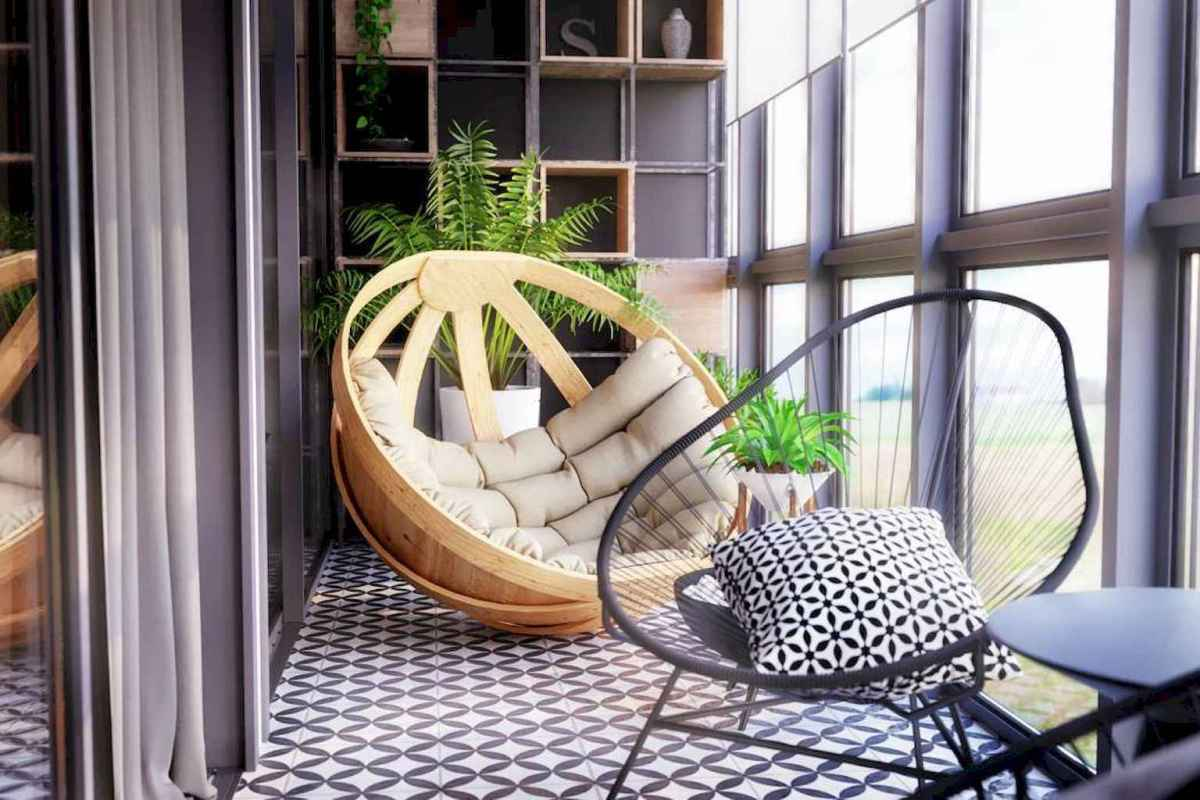50 scandinavian porch makeover and a relaxing date night on the deck (38)