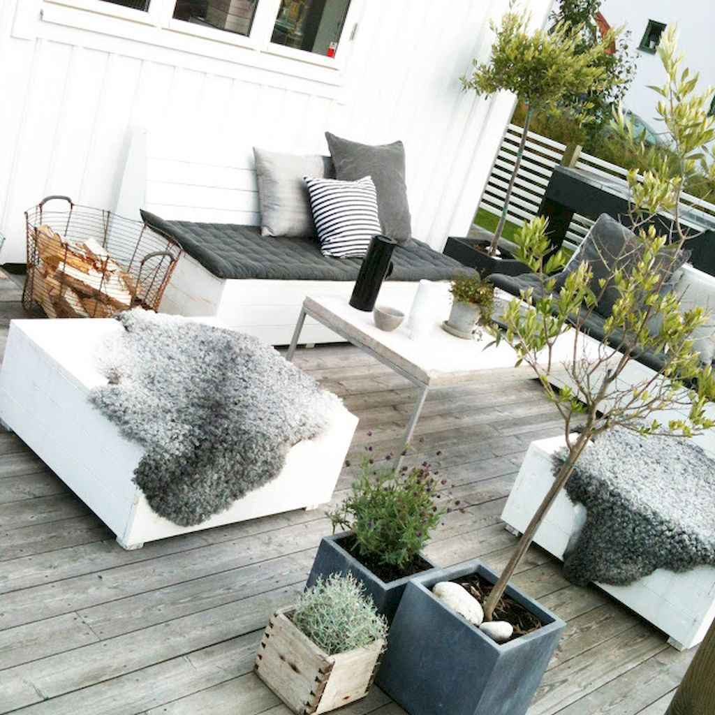 50 scandinavian porch makeover and a relaxing date night on the deck (48)