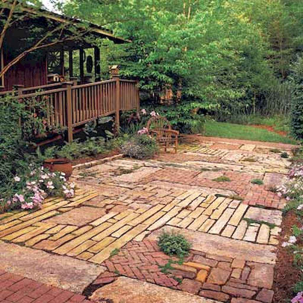 60 beautiful eclectic backyard decor (58)