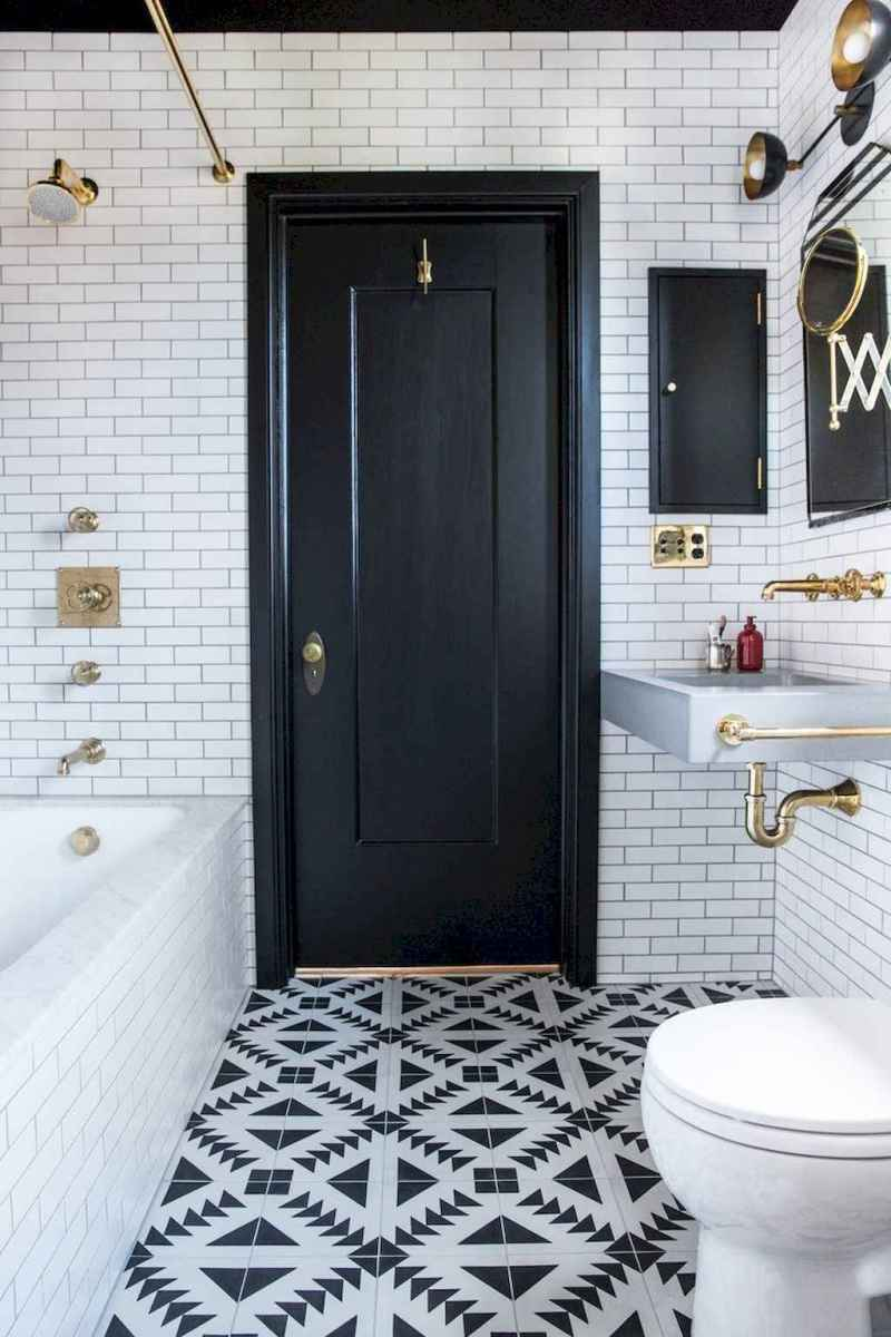60 beautiful eclectic bathrooms to inspire you (36)