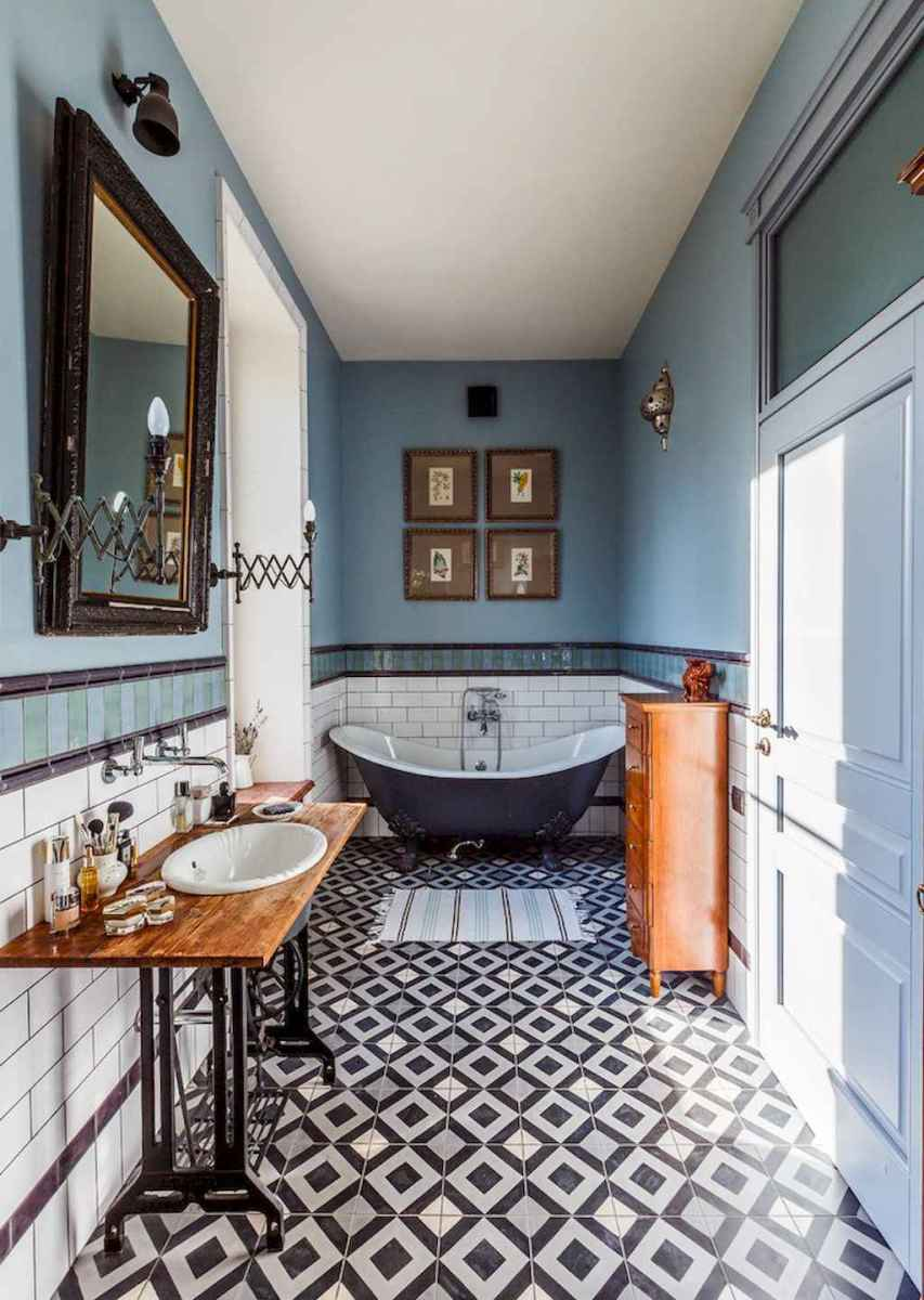 60 beautiful eclectic bathrooms to inspire you (4)