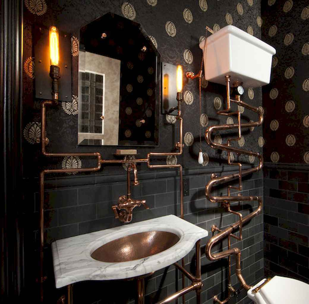 60 beautiful eclectic bathrooms to inspire you (40)