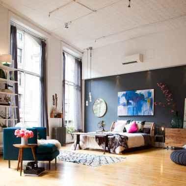 60 beautiful eclectic bedroom (54)
