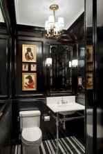60+ beautiful vintage powder room ideas (12)