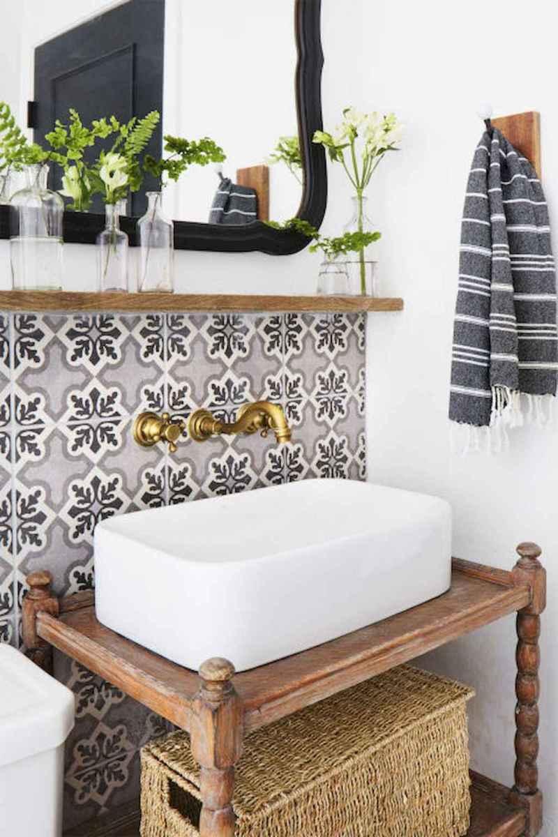 60+ beautiful vintage powder room ideas (17)