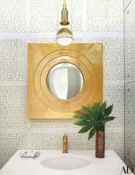 60+ beautiful vintage powder room ideas (2)