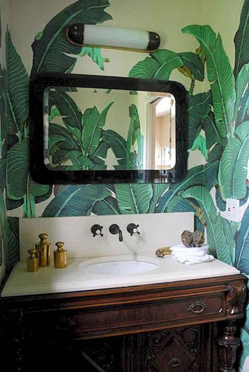 60+ beautiful vintage powder room ideas (5)